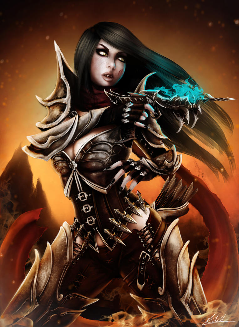 Demon Hunter by Tr1gg3r117