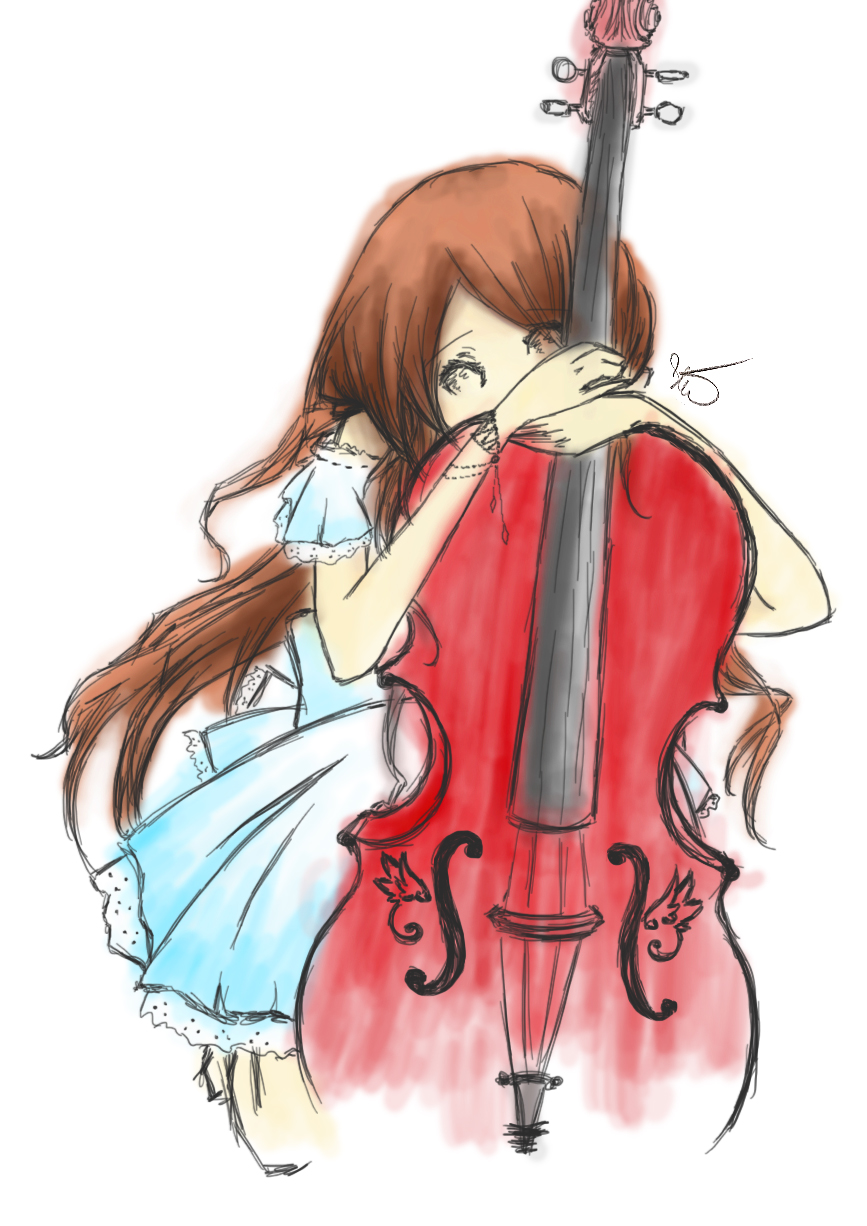 Cello by iEatIceCubes on DeviantArt