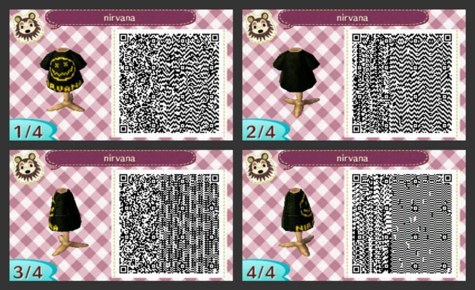 Animal Crossing New Leaf Qr Codes Kleider Elsa