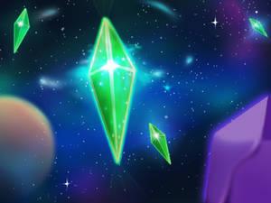 Where sims crystal came from