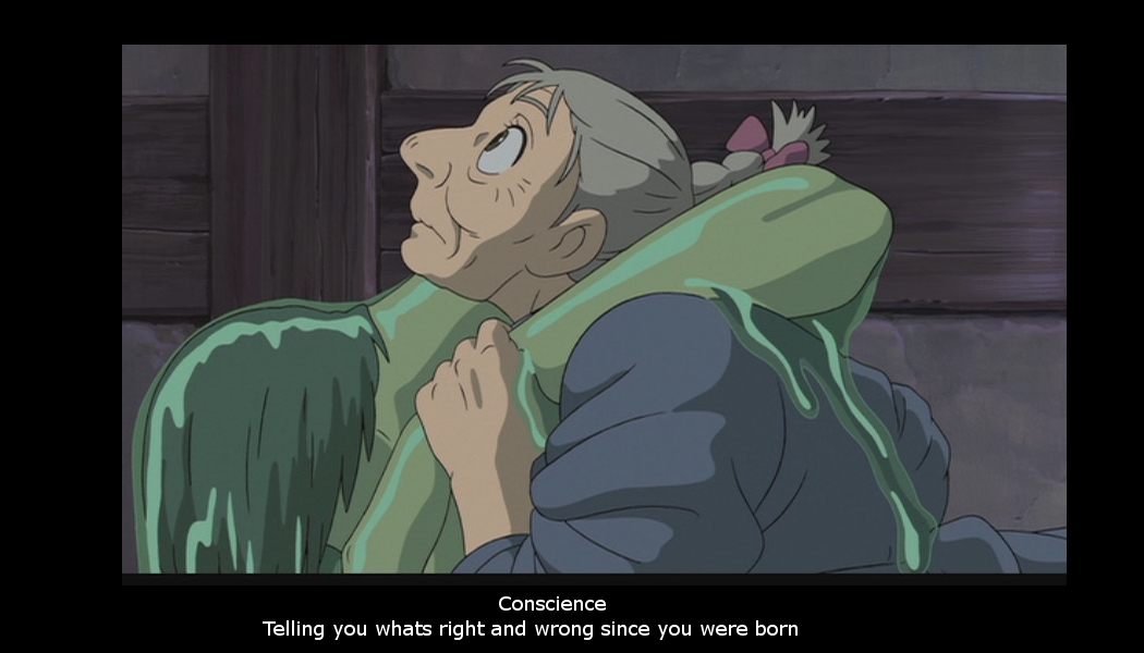 Conscience:in howl's castle