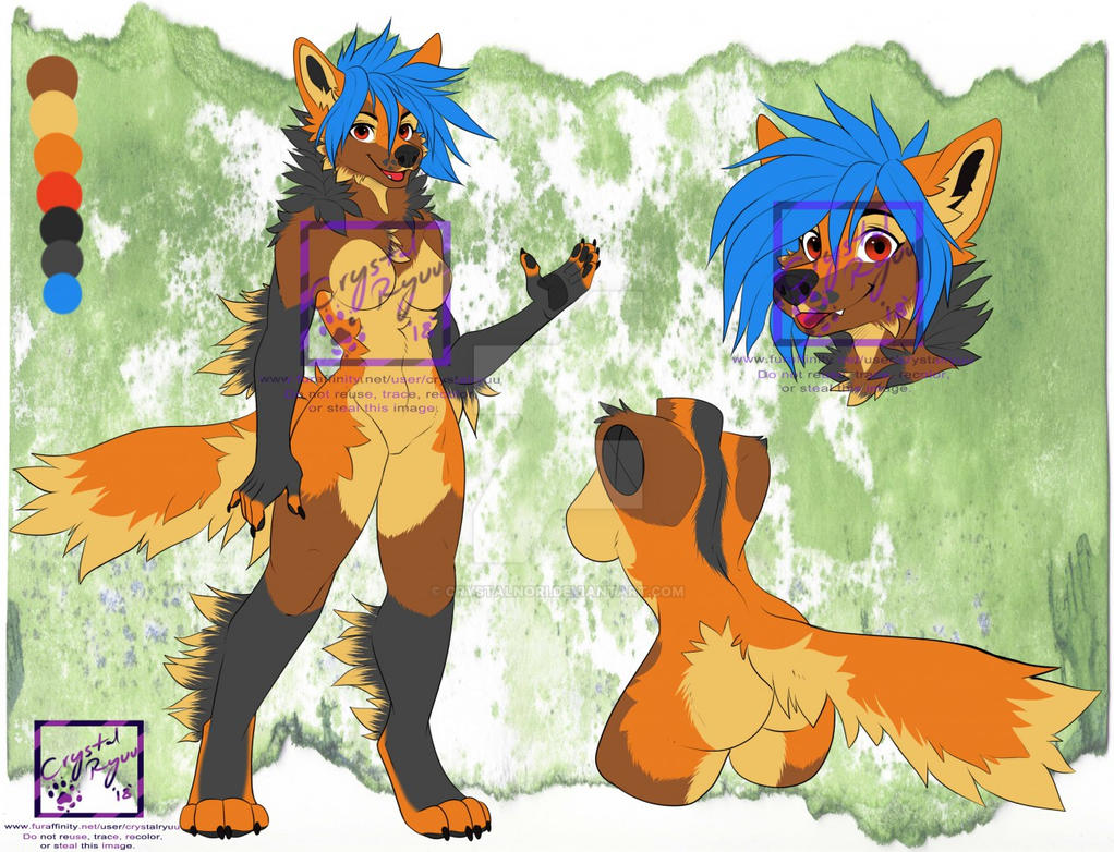 Girl K-9 Adopt (SOLD) by CrystalNori