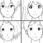 Hyouka (Line Art)