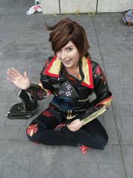 Tracer says hi by Azumi-neko