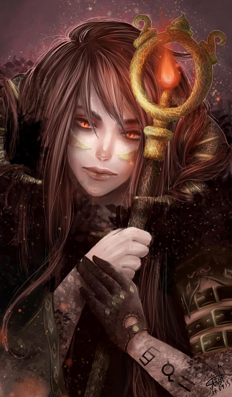 Frozen demon by renaillusion