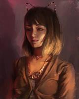 Elina portrait by renaillusion