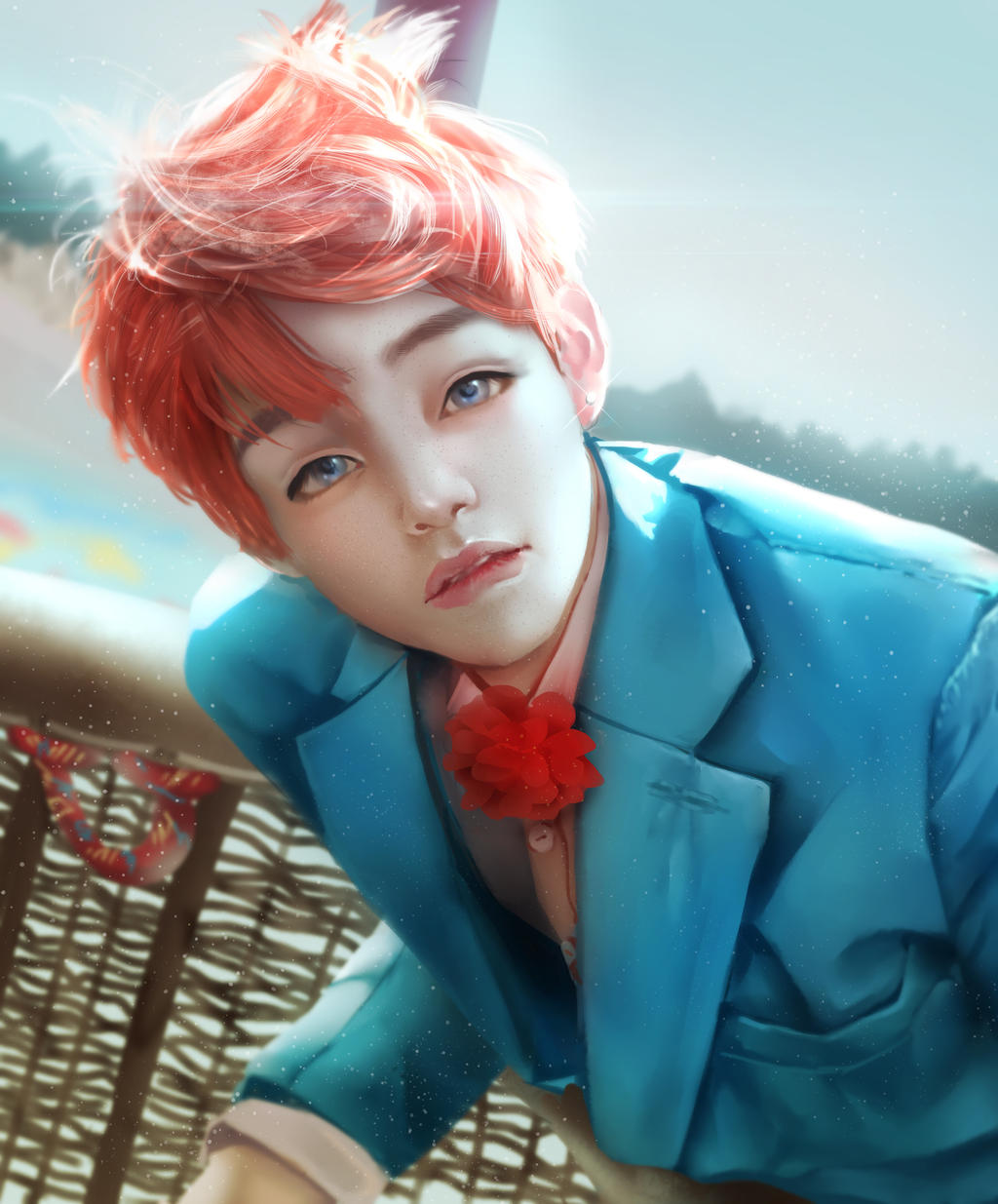 V Kim Taehyung Bts Photo Study By Renaillusion On Deviantart