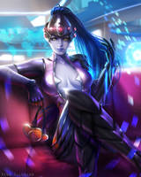 Widowmaker (Overwatch) by renaillusion