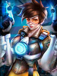 Tracer from Overwatch game