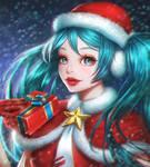Hatsune Miku (Christmas!)