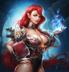 Dragon girl by renaillusion