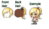 Maplestory Mixed hair - McKayla55291 by McKayla55291