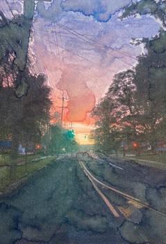 Sunset Street View