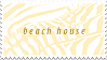 STAMP, BEACH HOUSE by signet-ring