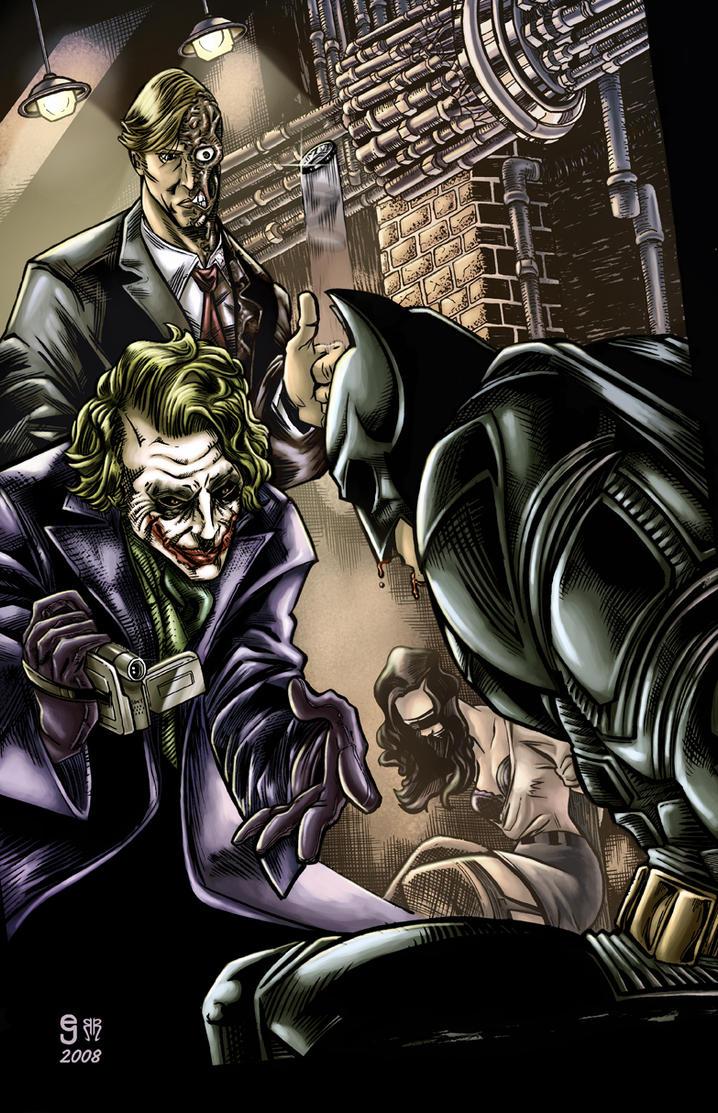 Dark Knight redux by ejimenez