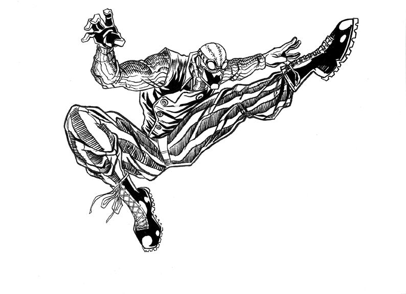 SpiderMan Noir by ejimenez on DeviantArt