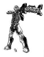 Dead Space Isaac Clark by ejimenez