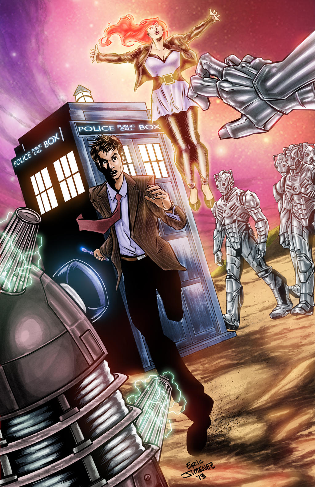 Doctor Who - 10 and Doctor Donna by ejimenez