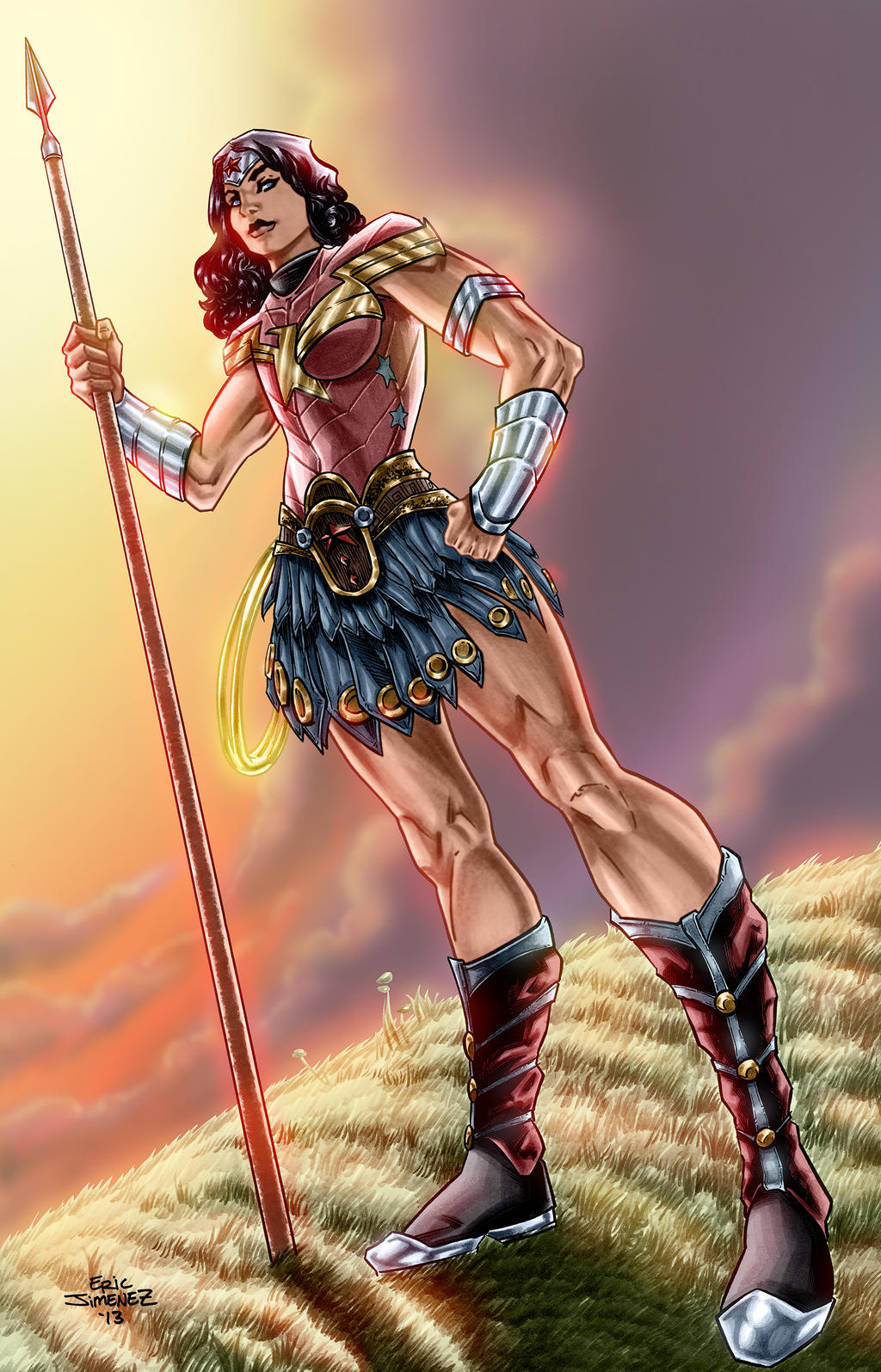 Wonder Woman, Amazon Princess by ejimenez