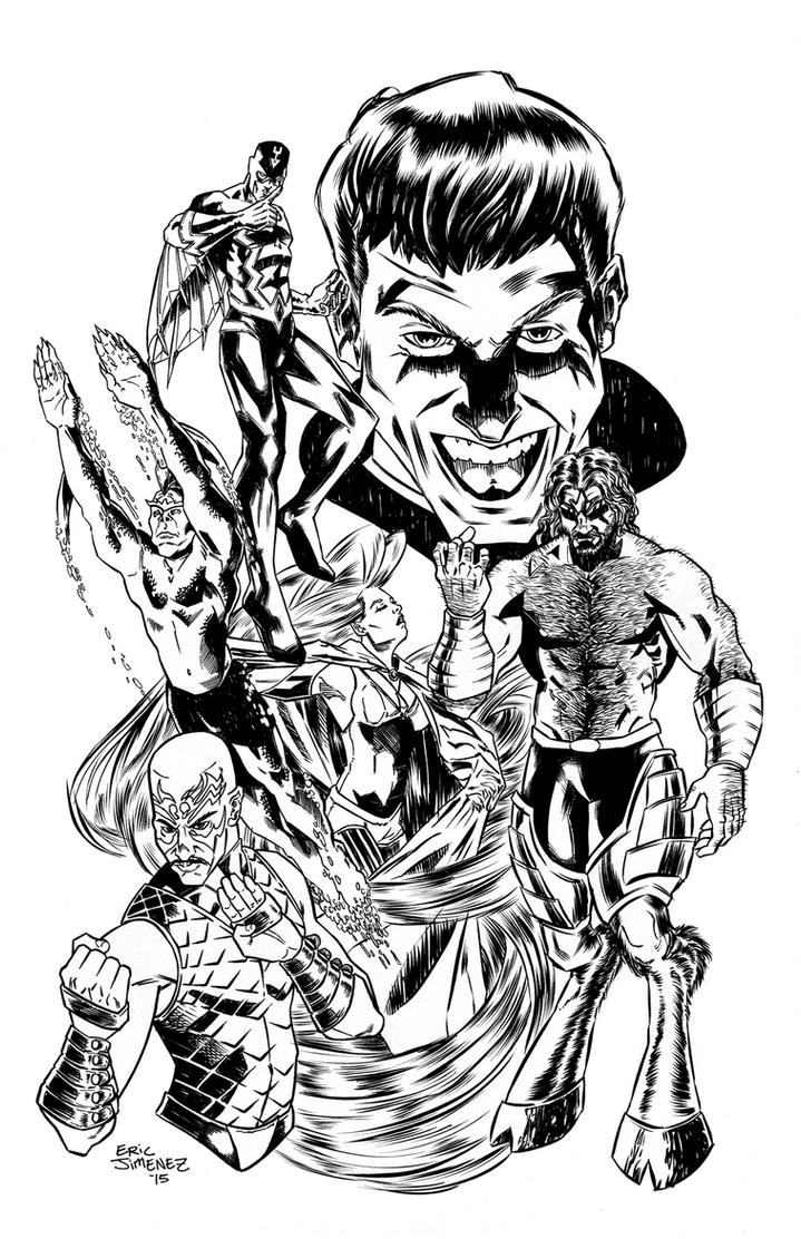 Inhumans by ejimenez