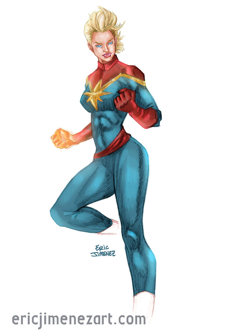 Captain Marvel by ejimenez