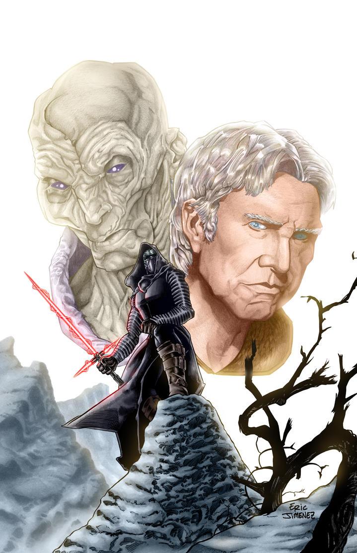 Star Wars the Force Awakens by ejimenez