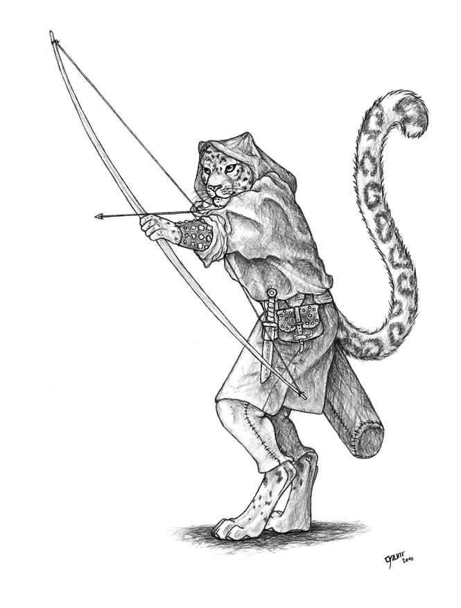 Résultats de recherche d'images pour «feline archer»