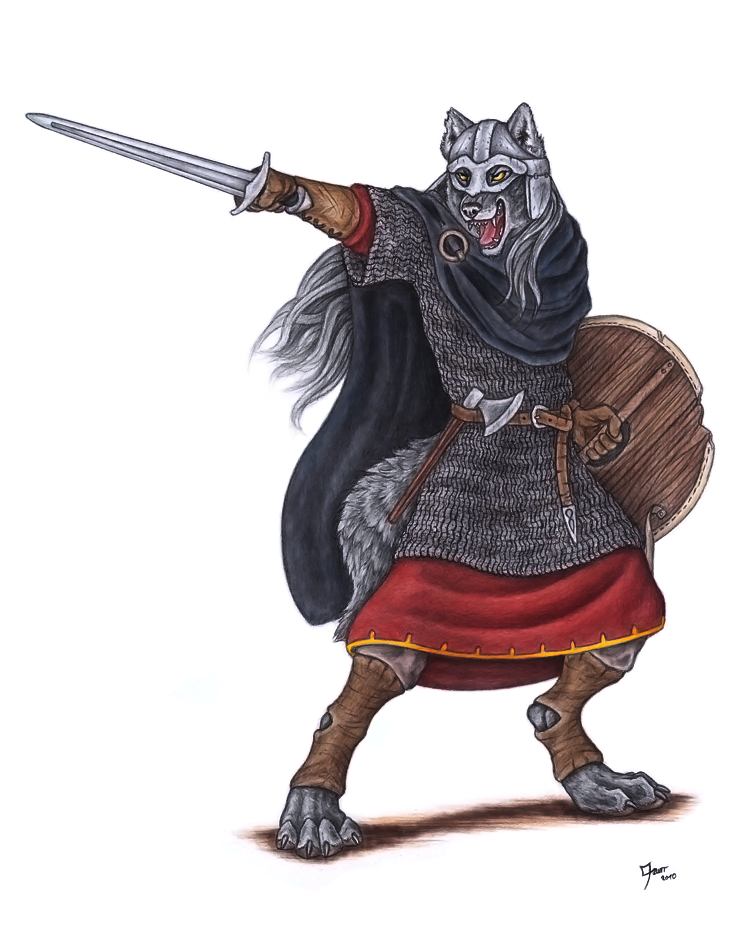 Warrior of Nordland by Qzurr