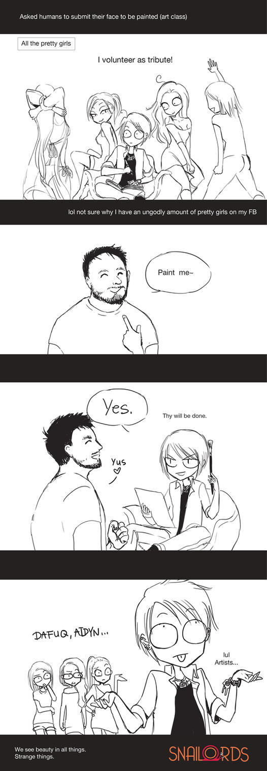 Artist Things by SnaiLords
