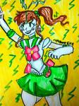 Sailor Jupiter [Sailor Moon] by DoughnutDoggy