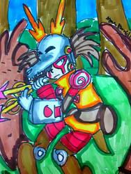 June [Mega Man X] by DoughnutDoggy