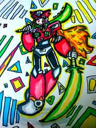 Double Z-Sabers!!! [Mega Man X]
