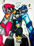 Best Friends For Never (Draw The Squad) [Mega Man] by DoughnutDoggy