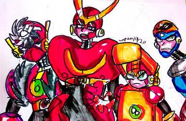 The MegaMix Boys (Rough Lil' Doodle) by DoughnutDoggy
