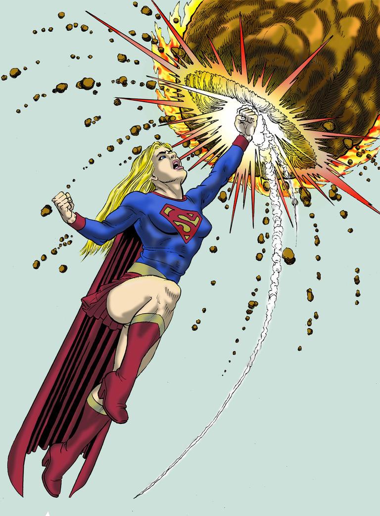 Supergirlcolor by luciferlive