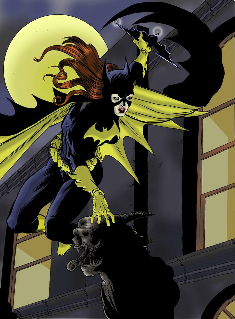 Batgirlcolor by luciferlive