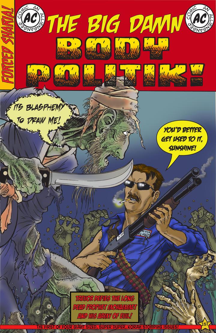 Big Damn Body Politik! cover by luciferlive