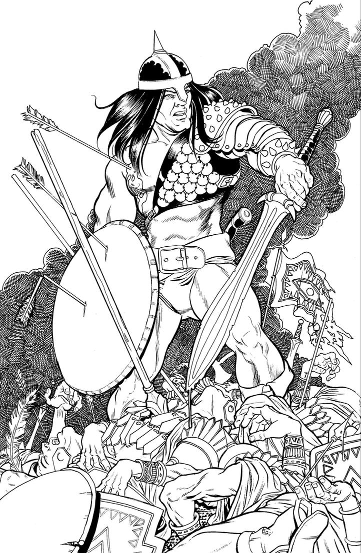 Conan: The Sting of Battle by Trevor-Nielson