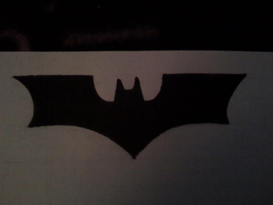the dark knight symbol by batwoman666 on deviantart