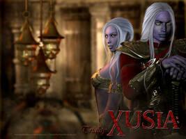 XUSIA by RainfeatherPearl