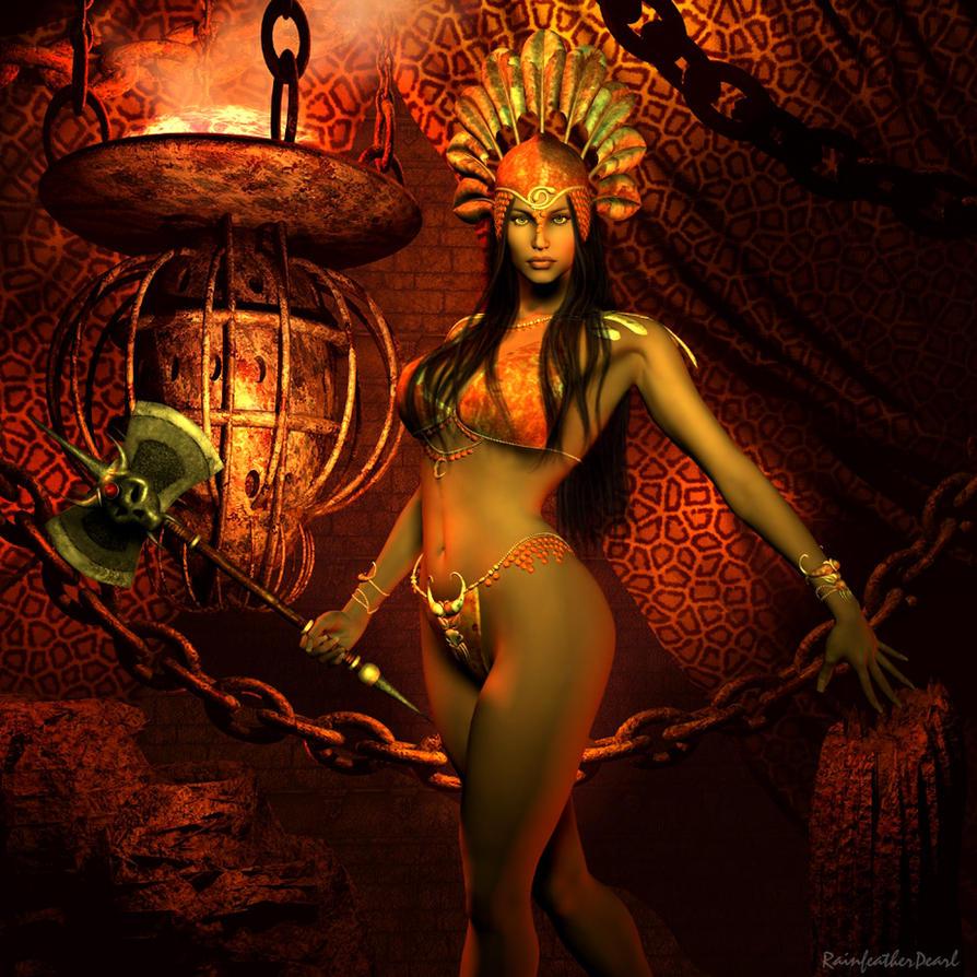 Tall amazonian warrior women nude adult photo