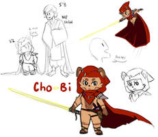 Cho-Bi the Ewok by ChobiLuck