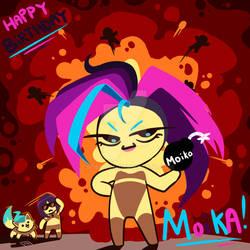 Happy Birthday Moika!