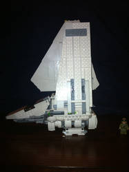 Lego Star Wars - Imperial Shuttle Tydirium by Talaeladar