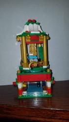 Lego Christmas Carousel by Talaeladar