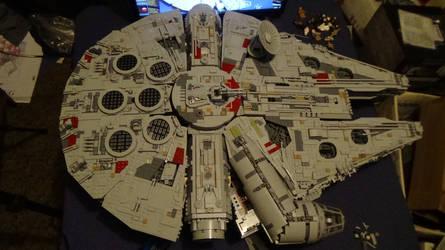 Lego Ultimate Collector Series Millennium Falcon by Talaeladar