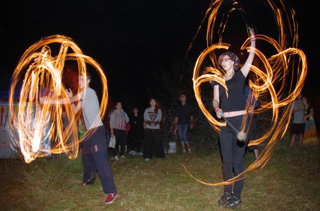 Fireshow II by voldemometr