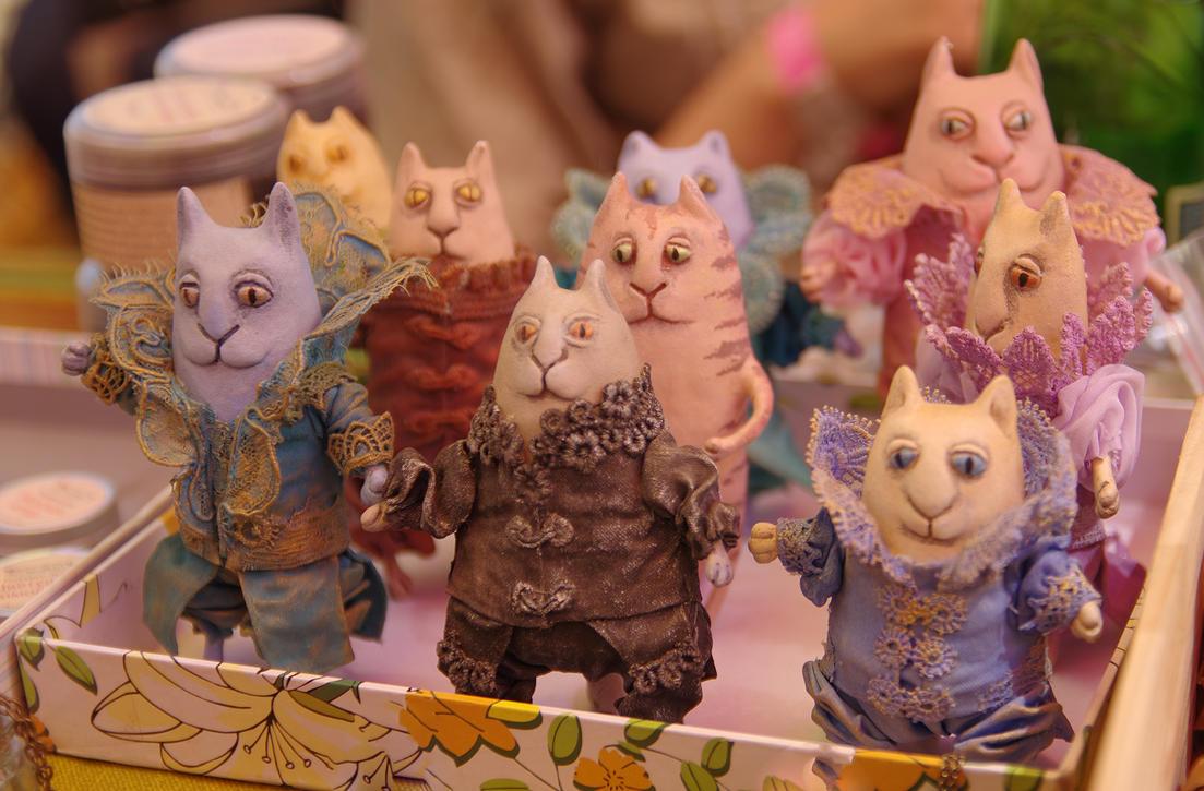 Cats still life by voldemometr