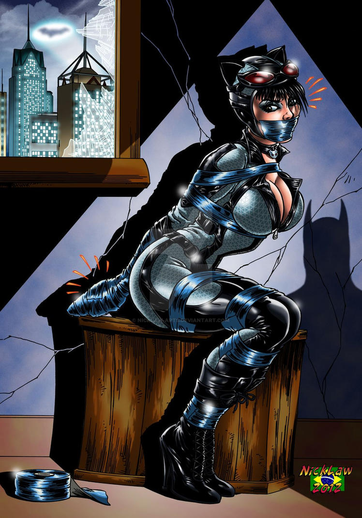 Catwoman bondage porn wife