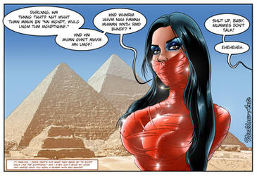 Red_Mummy by NickLaw-Arts
